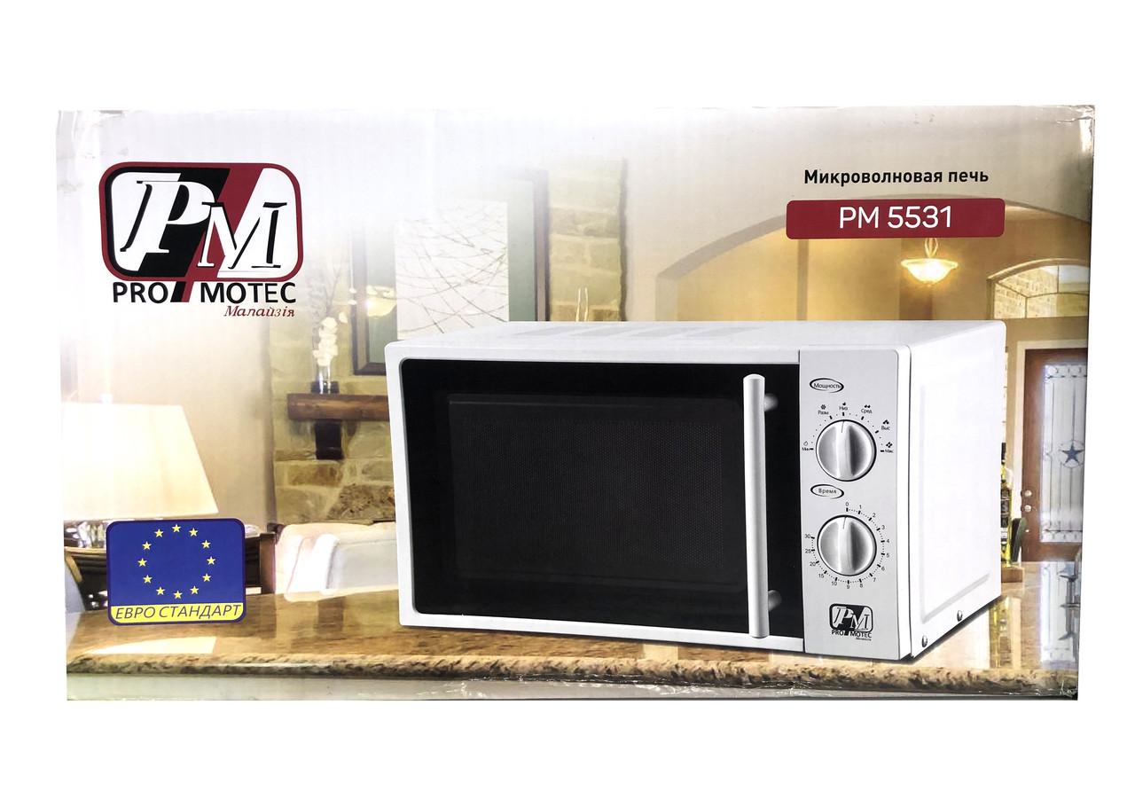 Микроволновая печь 20л 700 Вт PromoTec 5531