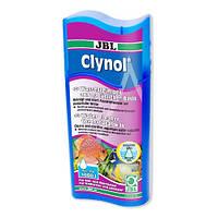 Кондиционер JBL Clynol для очистки воды в пресноводных и морских аквариумах, 100 мл
