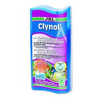 Кондиционер JBL Clynol для очистки воды в пресноводных и морских аквариумах, 250 мл