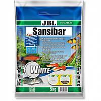 Мелкий белый грунт JBL Sansibar White для пресноводных и морских аквариумов, 5 кг