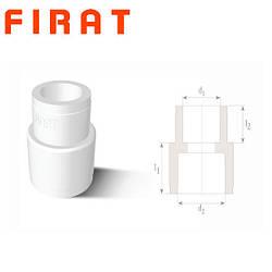 Муфта переходная полипропиленовая Firat