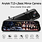 Зеркало с видеорегистратором Anytek T12 Экран 10 дюймов Full HD, две камеры, фото 3