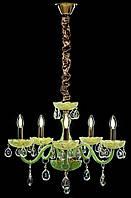 Люстра свеча L77114/5 (GRN), фото 1