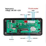Встраиваемый MP3 модуль, Bluetooth FM USB microSD, фото 3
