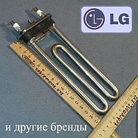 """ТЕН 1600 W / L = 175мм; """"Kawai"""" (з отвором, без бурту на резинці) для пральної машини LG"""