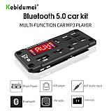 Встраиваемый MP3 модуль, Bluetooth FM USB microSD, фото 4
