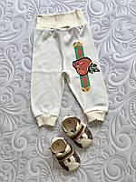 Ползунки штанишки Gucci, фото 1