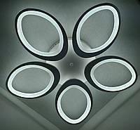 Люстра потолочная LED (8,5х73х73 см.) Белый матовый YR-2285/5