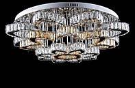 Светодиодная хрустальная люстра L78323/24+1 (CR+SHANBIN) LED