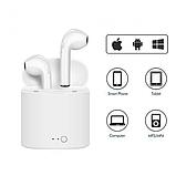Беспроводные Bluetooth наушники HBQ i7 mini TWS White Подходят для ANDROID, iOS Подарок Юсб лампа, фото 3