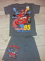 Літні костюми для хлопчика шорти футболка з мультигероями 1-2,2-3,3-4,4-5,5-6