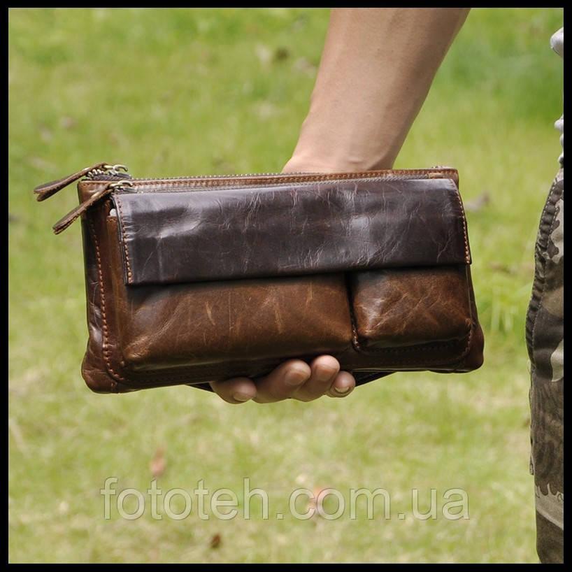 39aab88e8fd3 Мужской клатч - сумочка из натуральной кожи - Фототех - аксессуары для фото  видео техники в