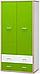 Шкаф распашной Лео Mebelservice, фото 2