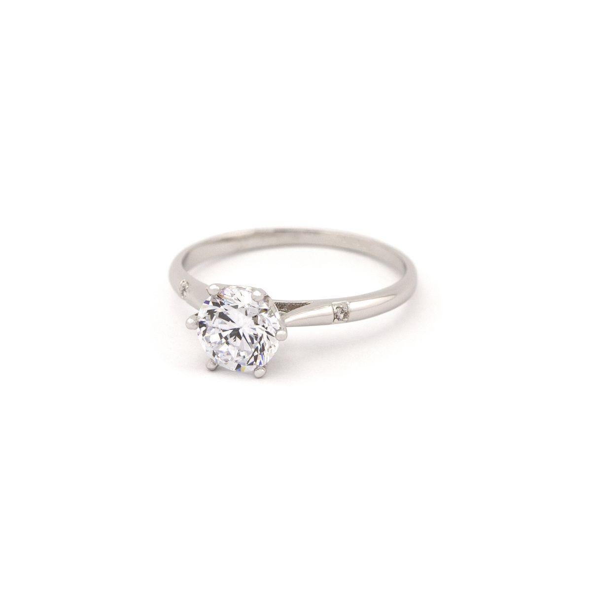 Кольцо в классическом стиле 355 KH01 BA