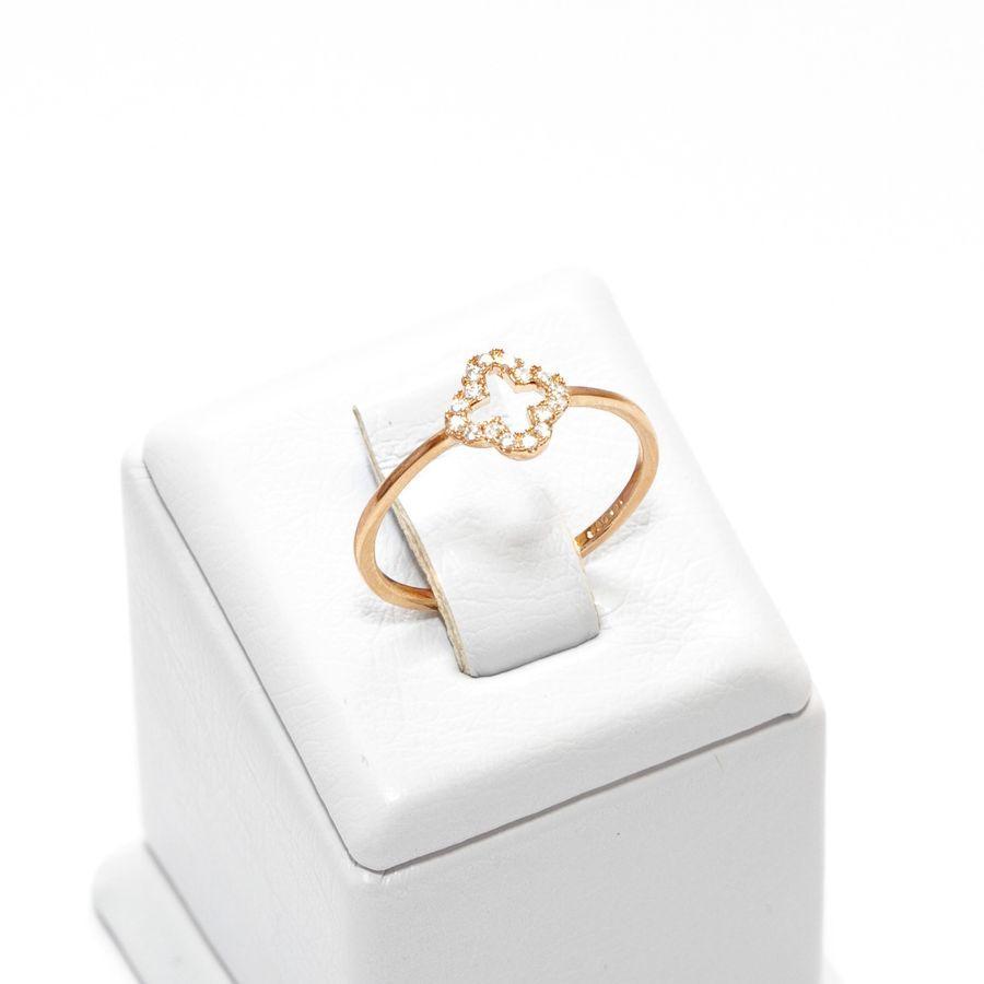 Кольцо с клевером 395 KH01 AA, R