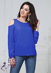 """Жіноча модна блузка великого розміру """"Renata"""" #A/S"""