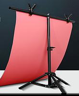 Стойка-штатив Штатив для фона Штатив для предметной фотосъемки  Т образный штатв  60х40 см (75 см) (без фона)