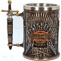Кружка готический Game of Thrones (Игра Престолов) Железный Трон Роскошная Чашка Игра престолов Кубок