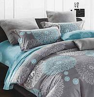 Полуторное постельное белье от ELWAY из Польши 100% сатин