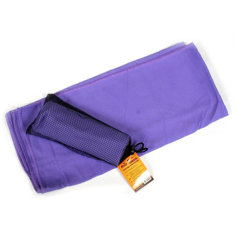Полотенце туристический Tramp 50 * 80 см, фиолетовый. Полотенце с микрофибры