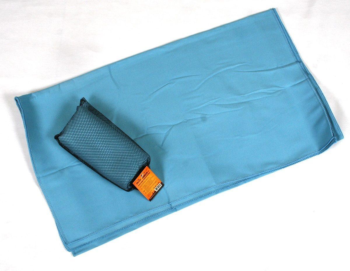 Рушник Tramp 60 * 135 см, блакитний. Полотенце с микрофибры
