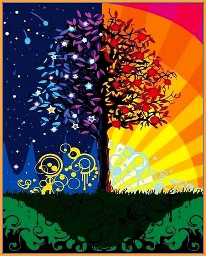 Картина за номерами Babylon Дерево щастя 40*50 см арт.NB224R
