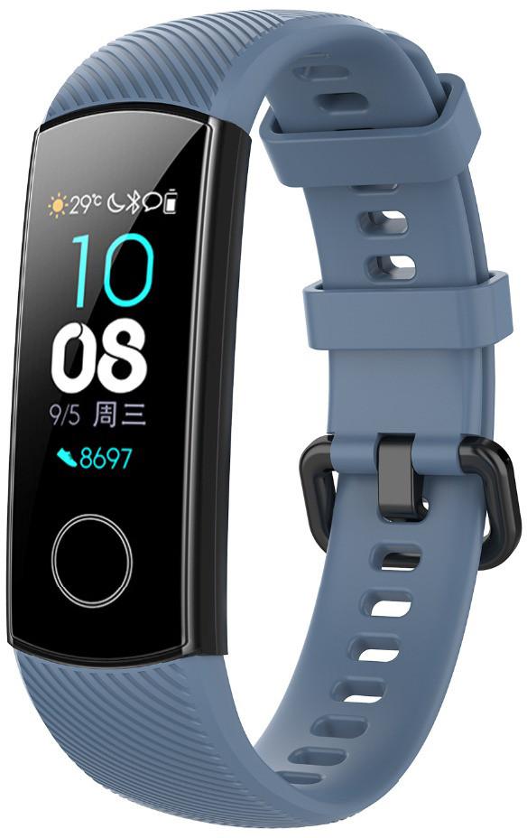 Ремешок для фитнес-браслета Huawei Honor Band 4 и 5 Gray blue