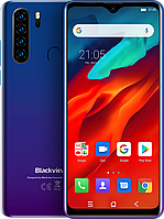 "Blackview A80 Pro, 4/64 Гб, Четверная камера 13 Мп, 4680 mAh, 4G, Helio P25, Android 9, Дисплей 6.49"", фото 1"