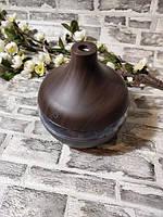 Увлажнитель воздуха в виде вазы темное дерево Humidifier