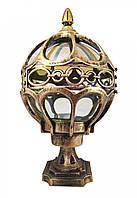 Фонарь уличный на ножке (32х18х20 см.) Золото состаренное YR-716-s/n