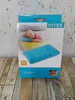 Надувная подушка Intex 68676 цветная 43х28х9см, фото 3