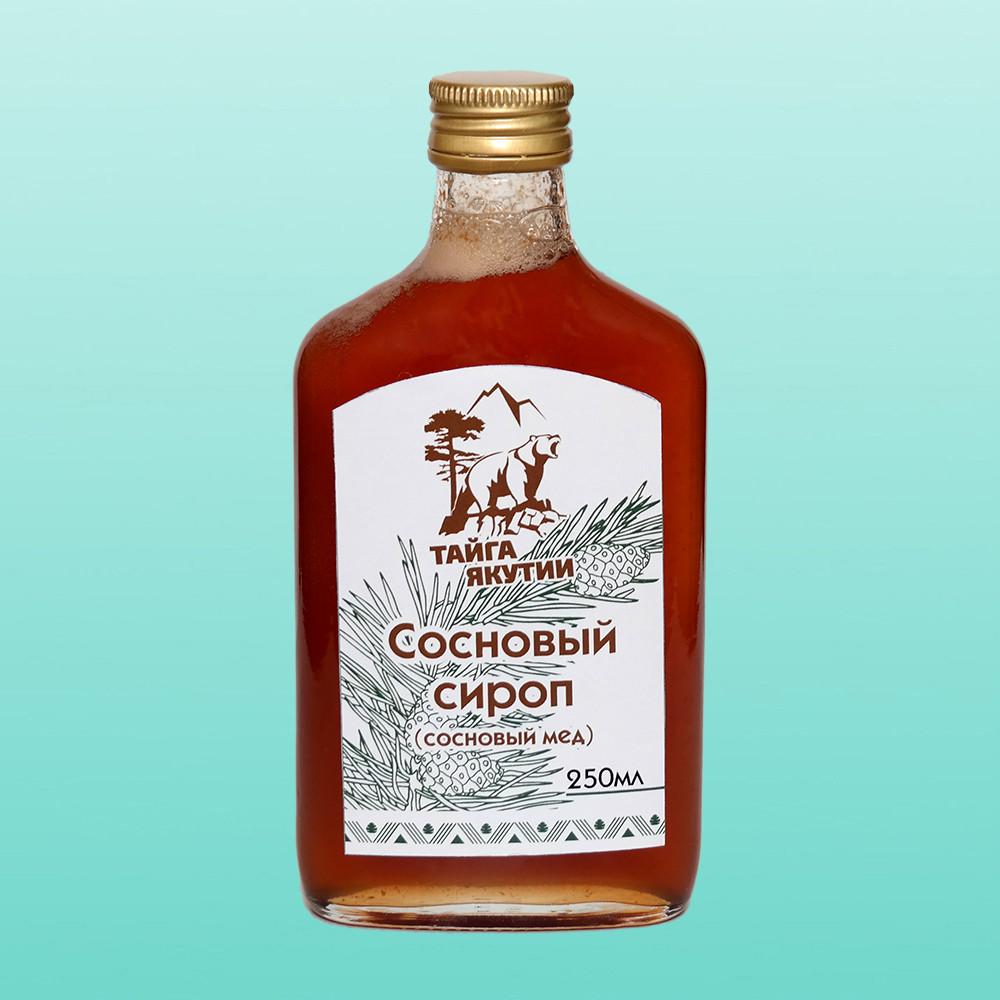 Сосновый сироп (сосновый мед), 250 мл.