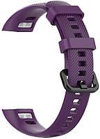 Ремешок для фитнес-браслета Huawei Honor Band 4 и 5 Purple, фото 2