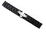 Браслет для Xiaomi Amazfit Stratos | Pace | GTR 47mm Ремешок 22 мм из дерева Черный от BeWatch (1020901), фото 3
