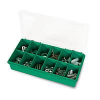 Органайзер Tayg 11-12 Estuche 25x14x5,4 см для хранения мелких принадлежностей пластиковый зелёный (050107А)