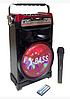 Беспроводная Bluetooth колонка X-BASS NS-1388BT NNS Портативная Bluetooth колонка со светомузыкой и микрофоном, фото 2