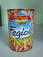 Фасоль консервированная Fagioli cannellini 400 г