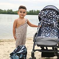Летний комплект для коляски - шторка от солнца, вкладыш от Mimirada baby
