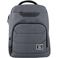 Рюкзак GoPack Сity 144-3 сіро-блакитний