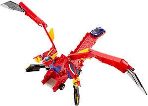 Мекард Дракон Драча Мега Машина-трансформер Mecard Mega Dracha Figure Mecardimal от Mattel оригинал США, фото 2
