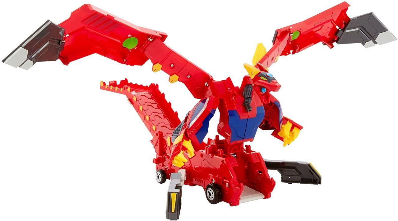 Мекард Дракон Драча Мега Машина-трансформер Mecard Mega Dracha Figure Mecardimal от Mattel оригинал США
