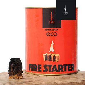 Разжигатель огня ЭКО 30 шт. в тубусе