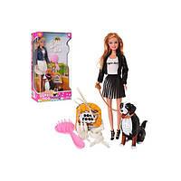 Кукла Defa Lusy с собакой 8428-BF