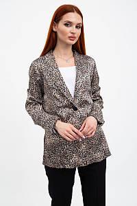 Жакет жіночий 115R363-9 колір Леопардовий 1215228803 1215228804