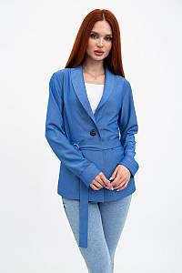 Пиджак женский 115R363-5 цвет Синий