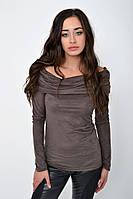 Джемпер женский 115R121 цвет Кофейный 1215229834 1215229834