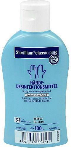 Антисептик для рук спиртовой 100 мл. жидкость Стериллиум Sterillium Bode Chemie