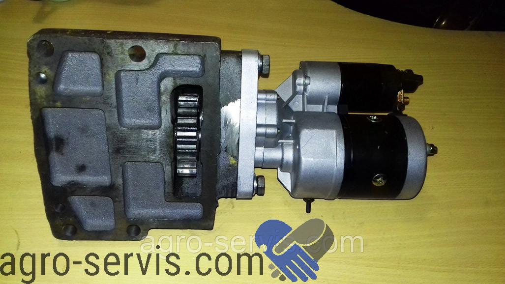 Пусковой двигатель модернизированый (ПДМ-10) ЮМЗ, МТЗ с редукторным стартером