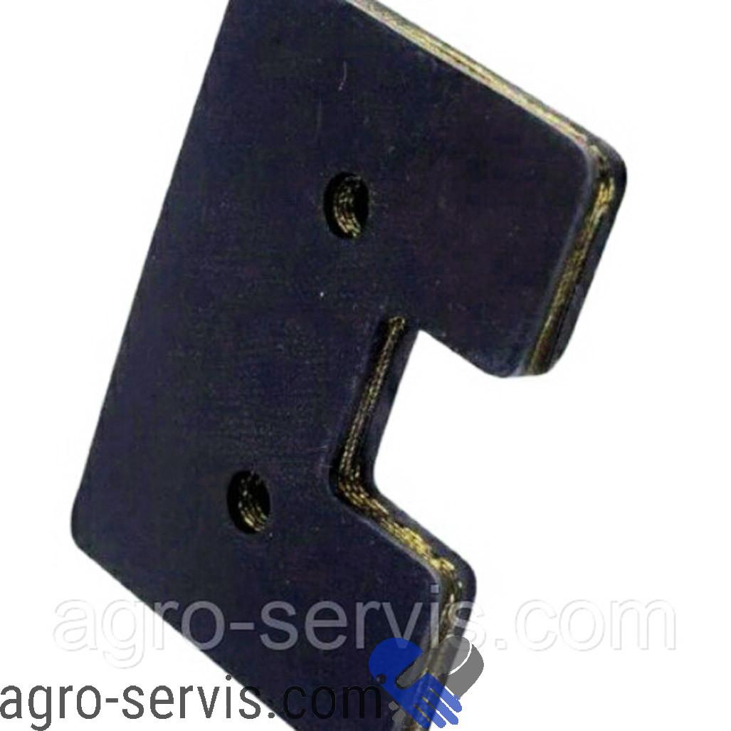 Скребок резиновый 154х80х12 (Tagex) Claas 672630.2