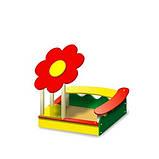 Дитяча пісочниця - Квітка 2. Будь-Який Колір. Розміри: 1500х1500х1700, фото 2
